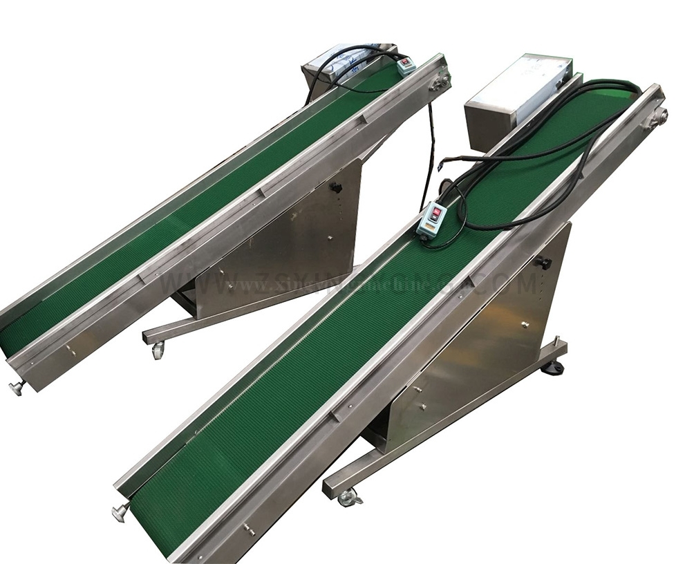 Belt take-away conveyor