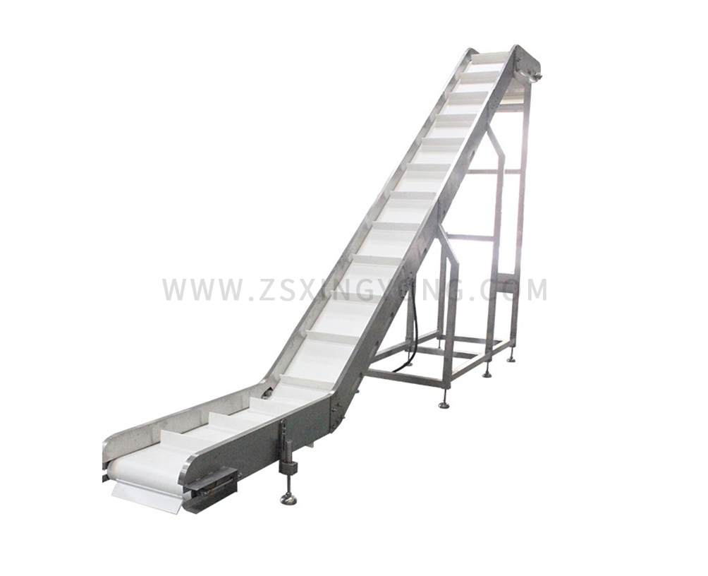 BeijingPP Chain Plate Inclined Conveyor