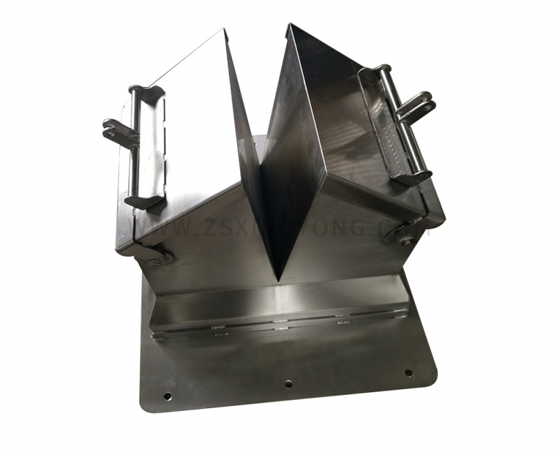 Double Outlet Collecting Hopper
