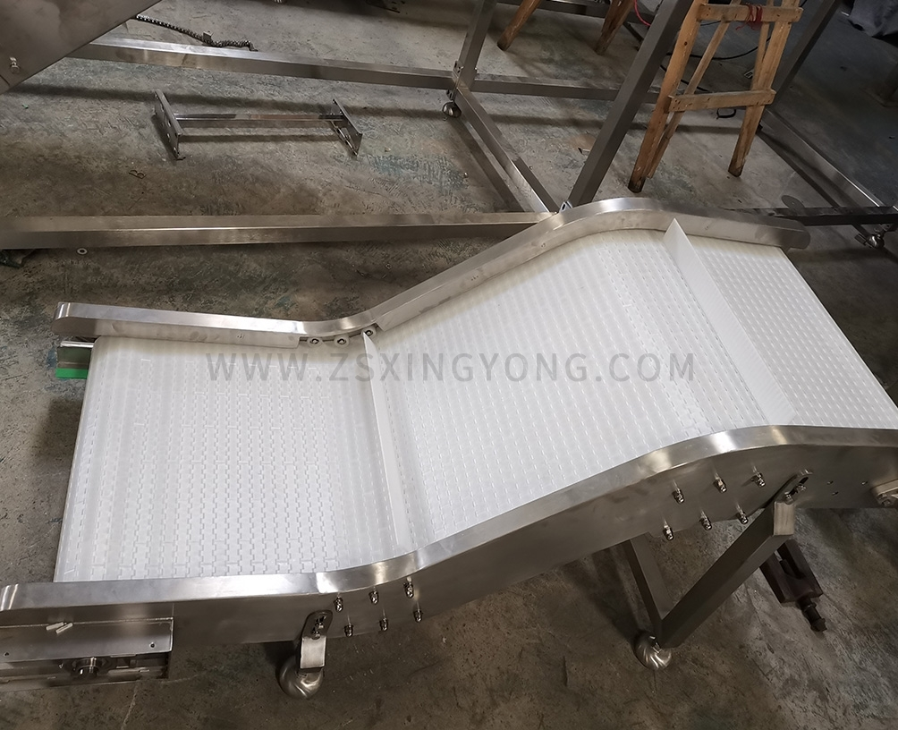 BeijingChain plate finished conveyor