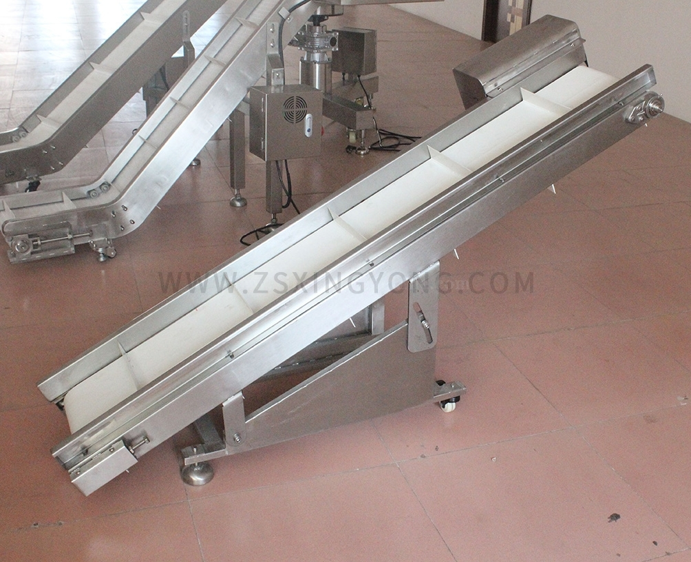 BeijingInclined finished product conveyor