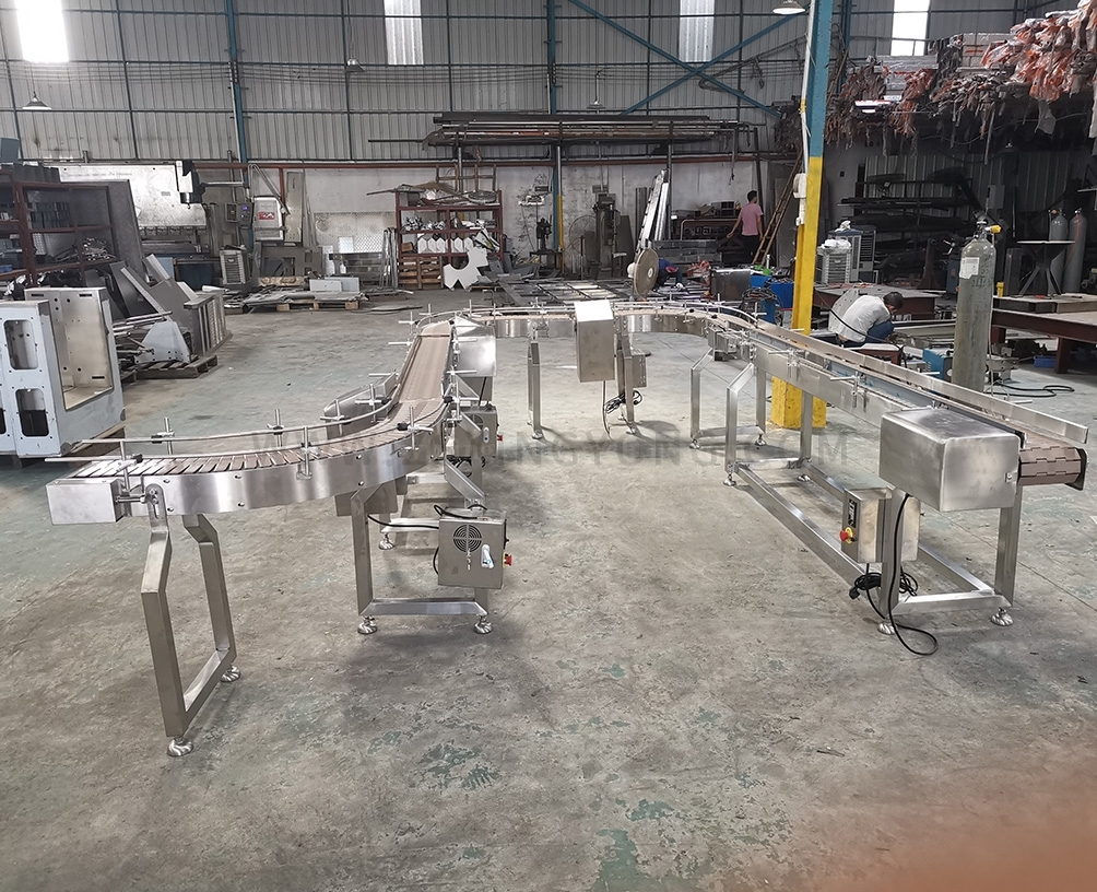 Bottle conveyor line