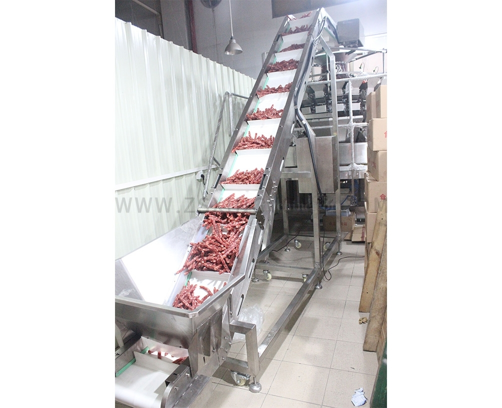 BeijingChain plate inclined conveyor