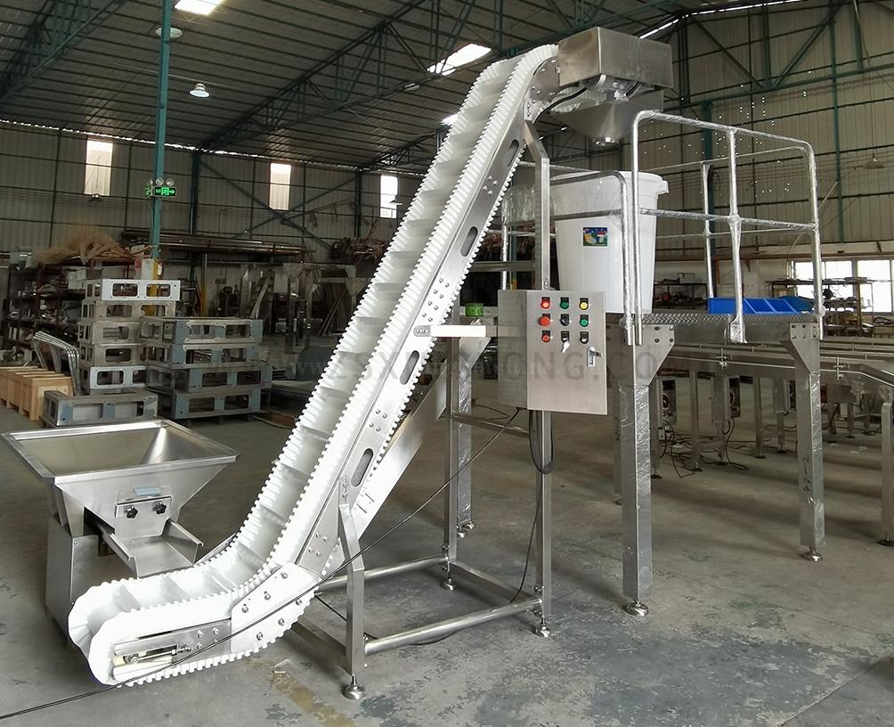 Belt inclined conveyor