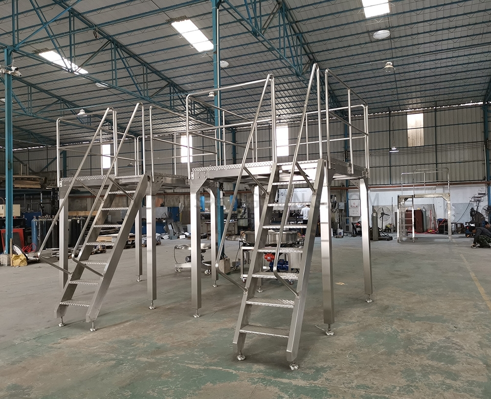 BeijingStainless steel working platform