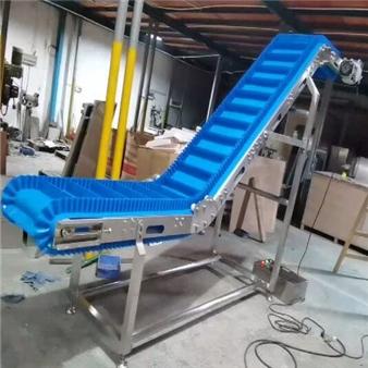 PU Wide belt inclined conveyor